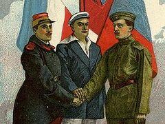 Союзники России по Антанте и их участие в ее катастрофе