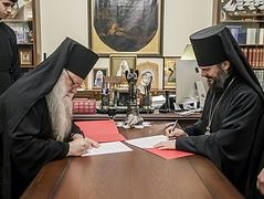 St. Petersburg Spiritual Academy and ROCOR pastoral school begin official cooperation