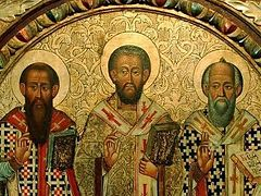 The Three Holy Hierarchs: an Organizer, a Contemplative, a Preacher