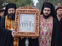 Cypriots welcome miraculous Panagia icon for freedom from passions and oppressors