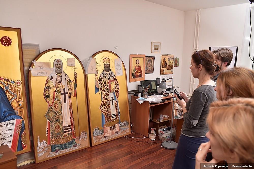 Иконы святителя Тихона и священномученика Илариона