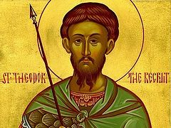 """Greatmartyr Theodore the Tyro (""""the Recruit"""")"""