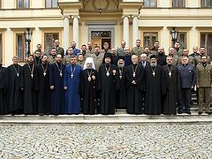 International Orthodox Chaplains' Association supports chaplains of canonical Ukrainian Church