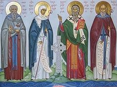 The Saints Rejoice in Moscow