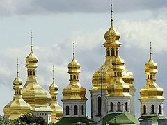 Ukrainian Orthodox Church denounces schismatics' provocation in Kiev Caves Lavra