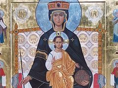 At the Feast of the Theotokos