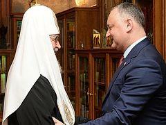 """Moldova has no future without the Orthodox faith"""