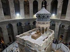 Правка заголовков Заголовок:  Restoration of Holy Sepulchre completed