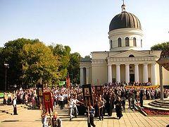 97% of Moldovans identify as Orthodox Christians