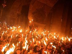 Holy Fire to be delivered to Russian churches in London for first time