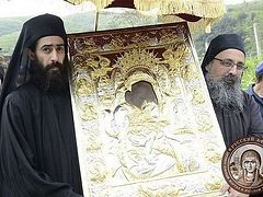 The Bright Week Processions on Mt. Athos—The Theotokos Begins the Rounds of Her Domain