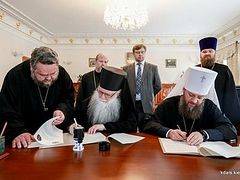 ROCOR pastoral school begins partnership with Kiev Theological Academy