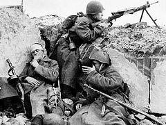 Как святитель Николай к солдатам в окопы спускался