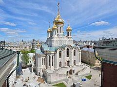 Великое освящение нового храма