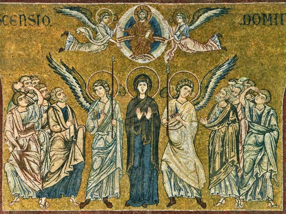 Вознесение Господне. Мозаика. Италия