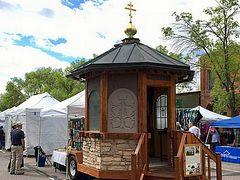Colorado parish converts coffee kiosk into mobile chapel