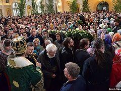 Празднование Пятидесятницы в Сретенском монастыре