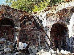 Destruction of Orthodox holy sites continues in Albania