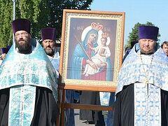 Wonderworking Marinogorsk Icon of Mother of God celebrated in Borisov, Belarus