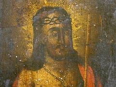 Icon of Savior miraculously renewed in Uman, Ukraine
