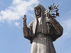 23-foot monument to St. Elizabeth the New Martyr consecrated in Alapaevsk