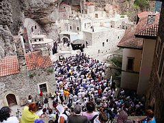 Turkey again bars Pat. Bartholomew from serving Dormition Liturgy in Panagia Sumela Monastery