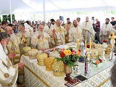 Serbian Church glorifies St. Mardarije of Libertyville
