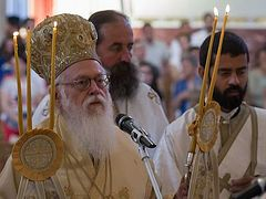 25th anniversary of enthronement of Abp. Anastasios of Albania celebrated