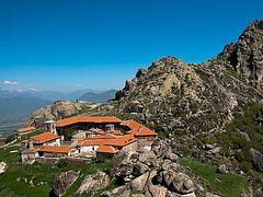 Macedonia's 13th century Treskavec Monastery threatened by fire