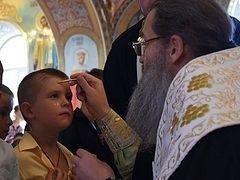 Mass Baptism celebrated at Ukrainian daycare