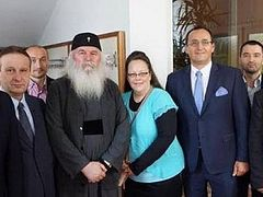 Kentucky county clerk Kim Davis supporting traditional marriage on Romanian tour