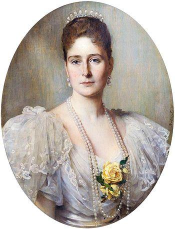 Empress Alexandra Feodorovna.
