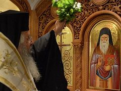 Altar dedicated to Sts. Paisios and Porphyrios consecrated in Athens suburb
