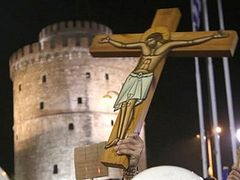 Orthodox in Greece protest play glorifying the devil