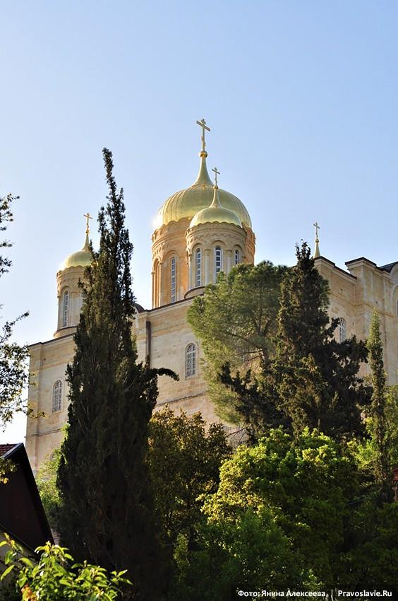 Горненский женский монастырь в Эйн-Карем. Храм Всех святых, в земле Российской просиявших