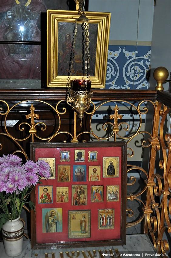Келейные иконы отца Антонина (Капустина)