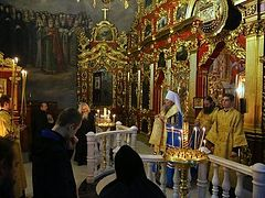 Kiev Caves Lavra gives thanks to God for protection from radicals