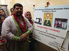 St. Matrona Sewing Center festively opened in Pakistan
