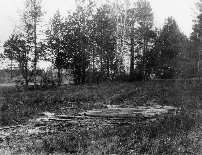 Поросенков лог. Фото Соколова. 1919 г