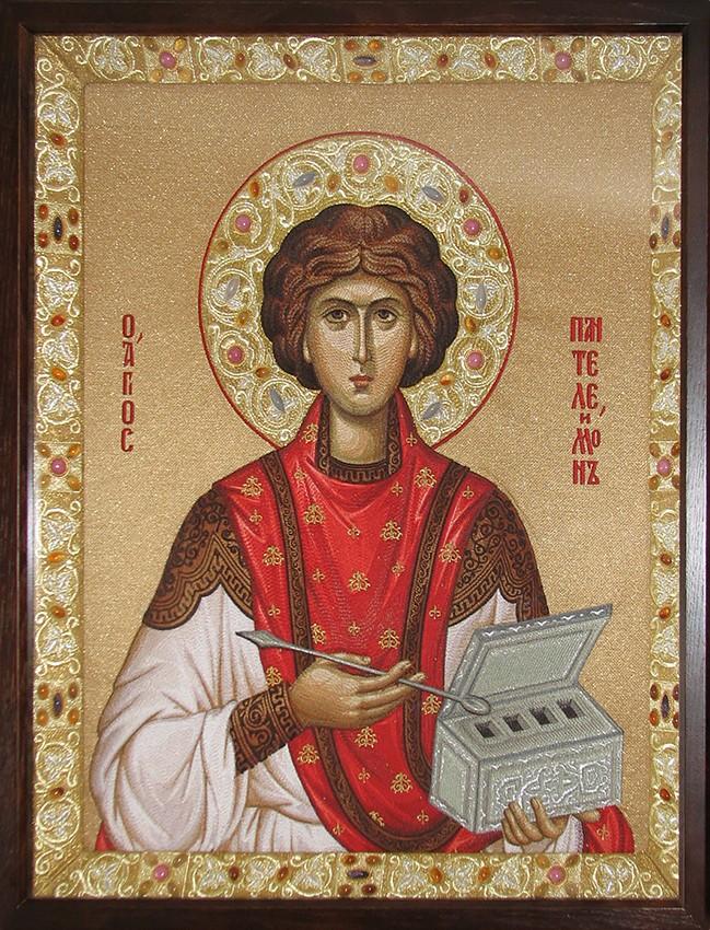 Икона вмч. Пантелеимона