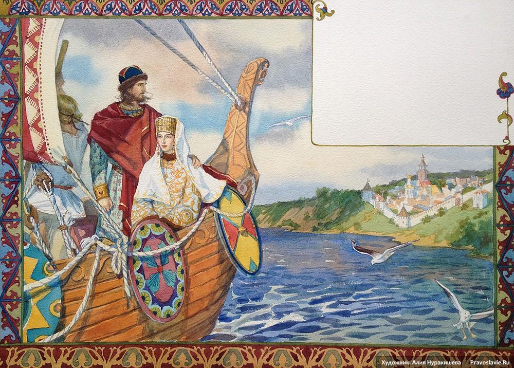 Δούκος Πέτρος εγκαταλείπει την πόλη του Μούρομ