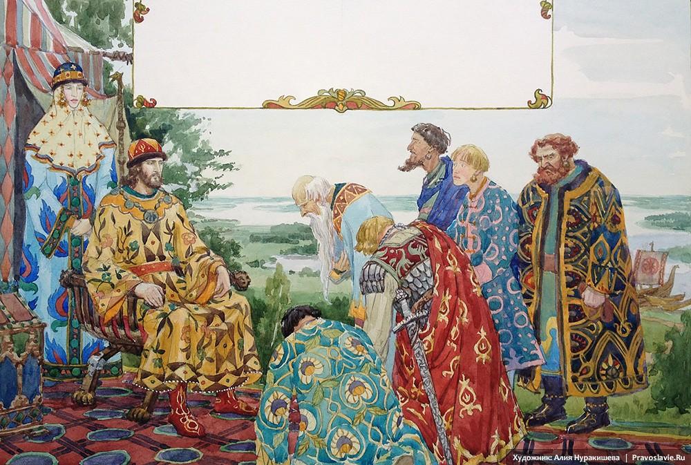 Βογιάροι ζητάνε από τον Δούκο Πέτρο να επιστρέψει στο Μούρομ