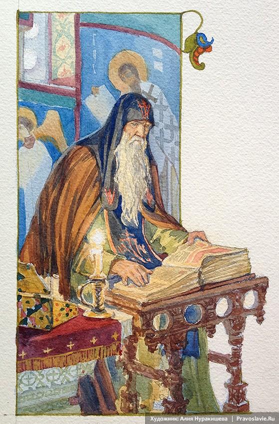 Δούκος Πέτρος, Δαβίδ Μοναχός