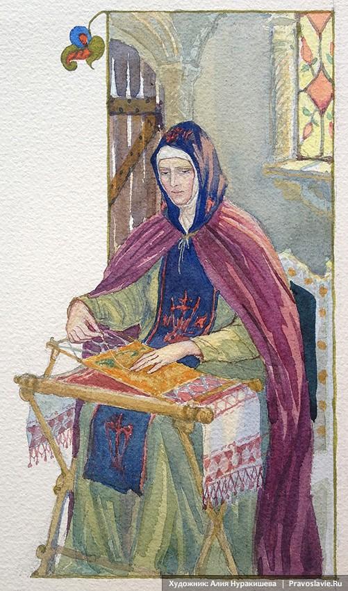 Δούκισσα Φεβρωνία, Ευφροσύνη Μοναχή