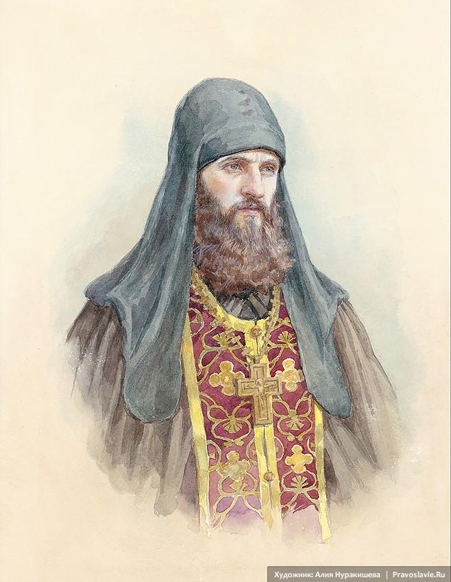 Πορτρέτο του Ιερομονάχου Ρωμανού (Ματιούσιν)