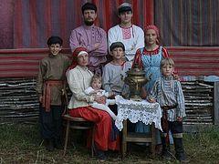 Как и на Руси: семья единоверцев сегодня