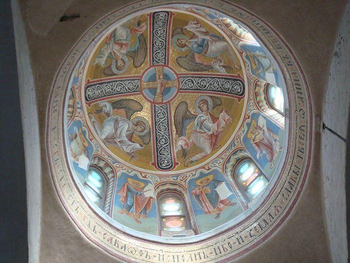 Мозаика центрального купола собора