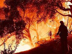 California Greek churches threatened by fire