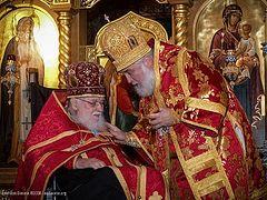 90th birthday of Protopresbyter Valery Lukianov celebrated in St. Alexander Nevsky Cathedral