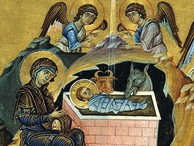 The Nativity of Christ: Icons and Frescos